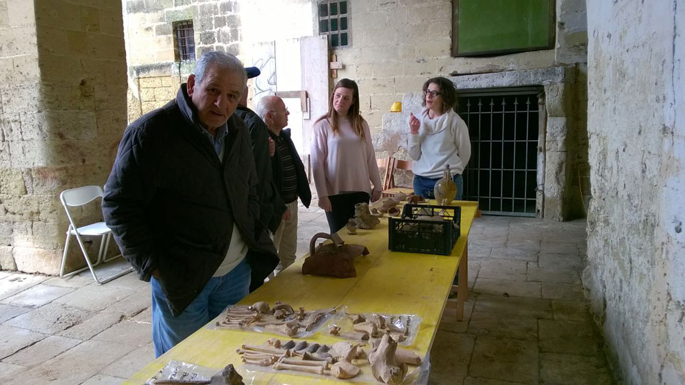 scopriamo i materiali archeologici